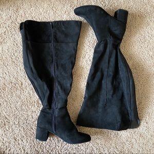 Torrid Suede Over the Knee Boots